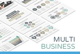 Multi Business Keynote Presentation Template