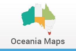 Oceania Maps Keynote Template