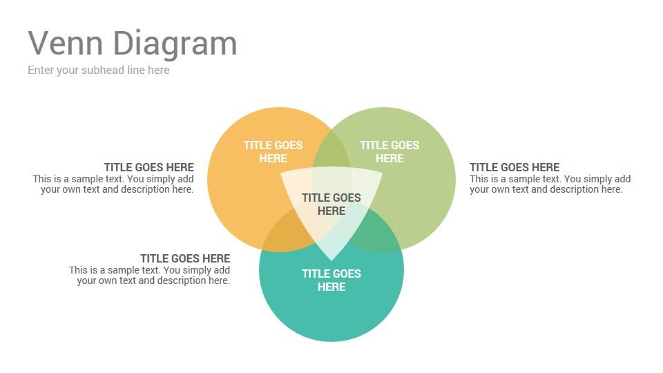 Venn Diagrams Keynote Template Slidesalad