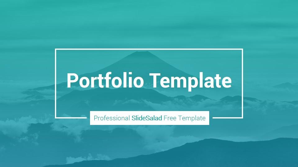 Free Business Portfolio Point Template