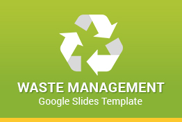 Waste Management Google Slides Template Designs