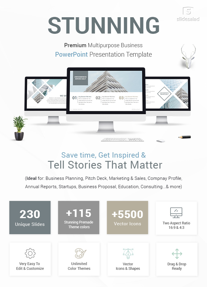 Stunning PowerPoint Template Designs