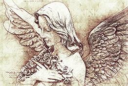 Da Vinci Sketch Art Photoshop Action