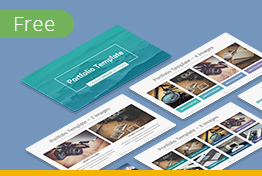 Free Business Portfolio Google Slides Template