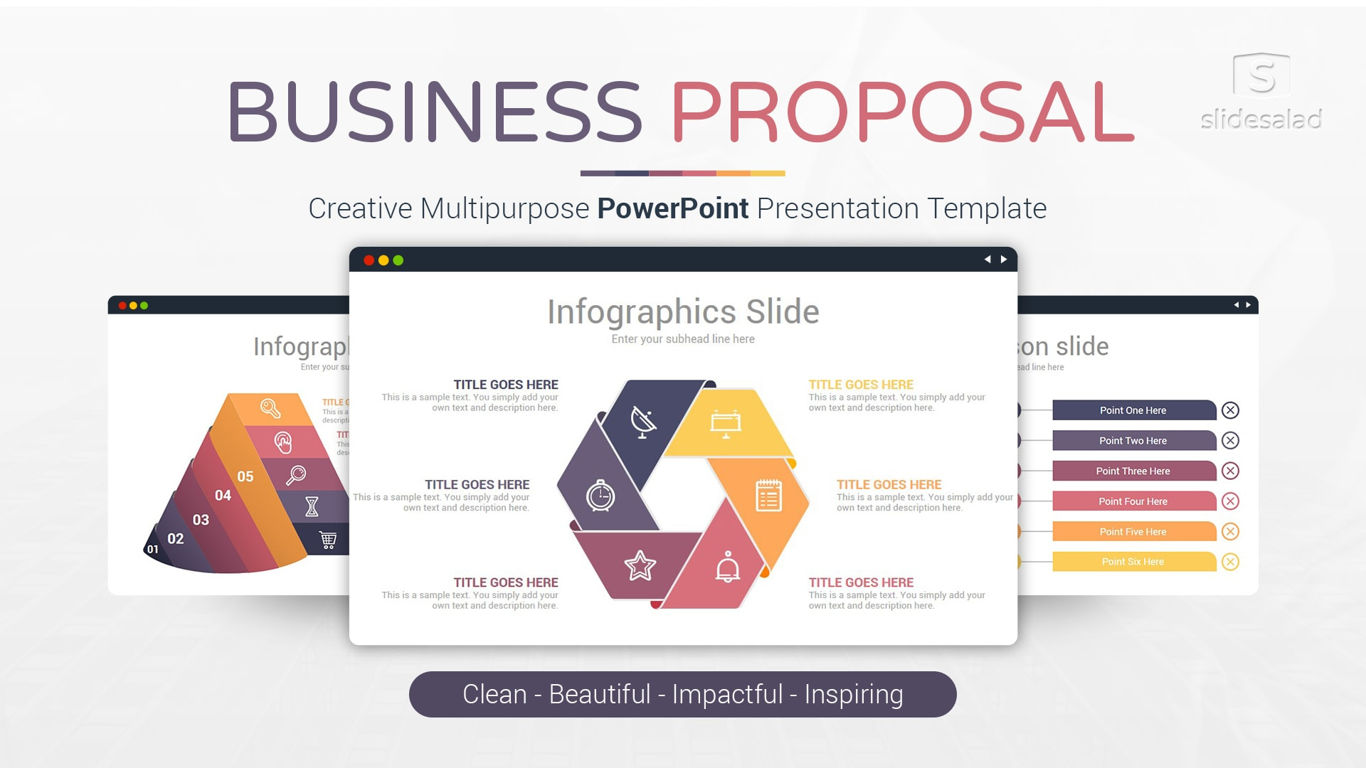 Business Proposal – Affordable Business PowerPoint Template