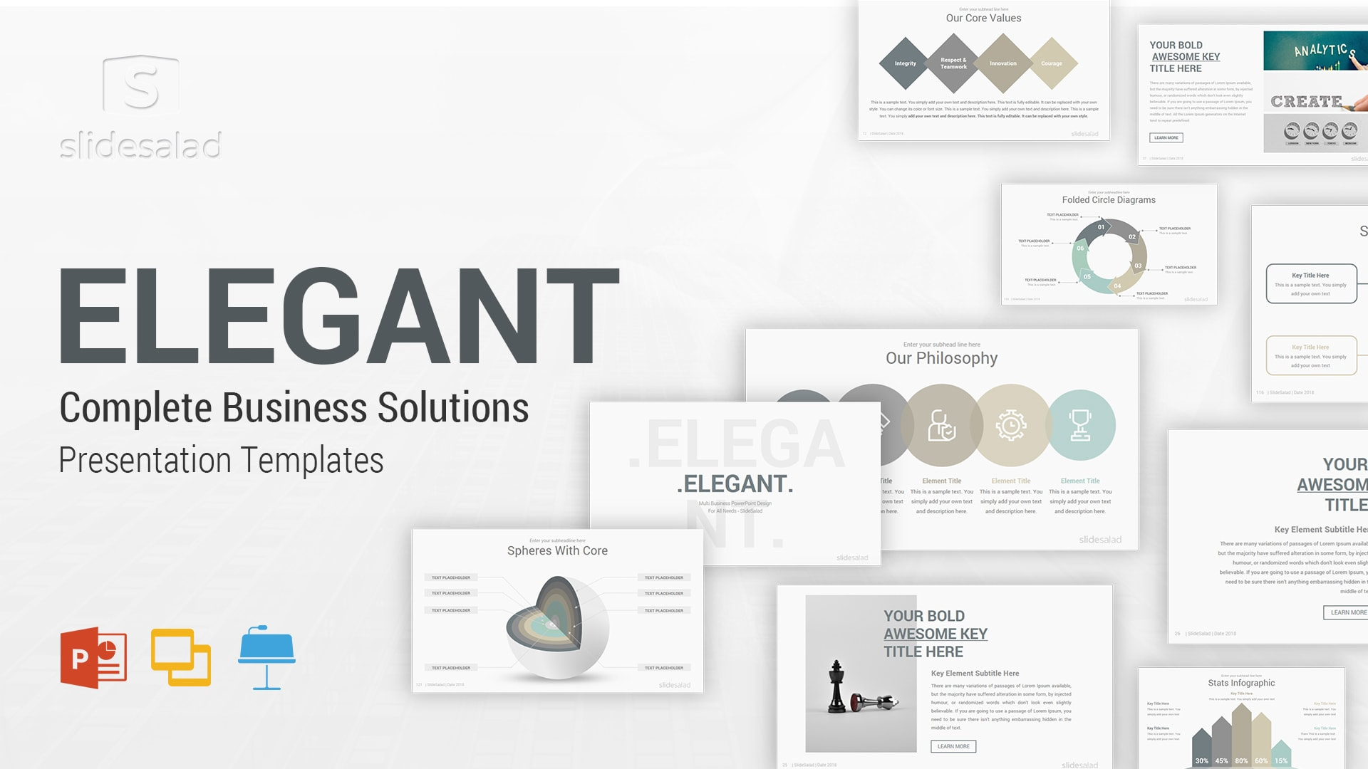 Elegant Presentation Templates Designs