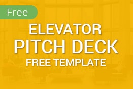 Elevator Free Pitch Deck Google Slides Template