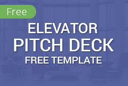 Elevator Free Pitch Deck PowerPoint Template