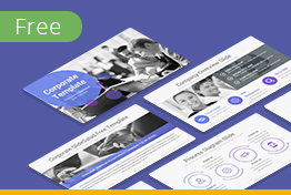 Free Corporate Profile Google Slides Theme