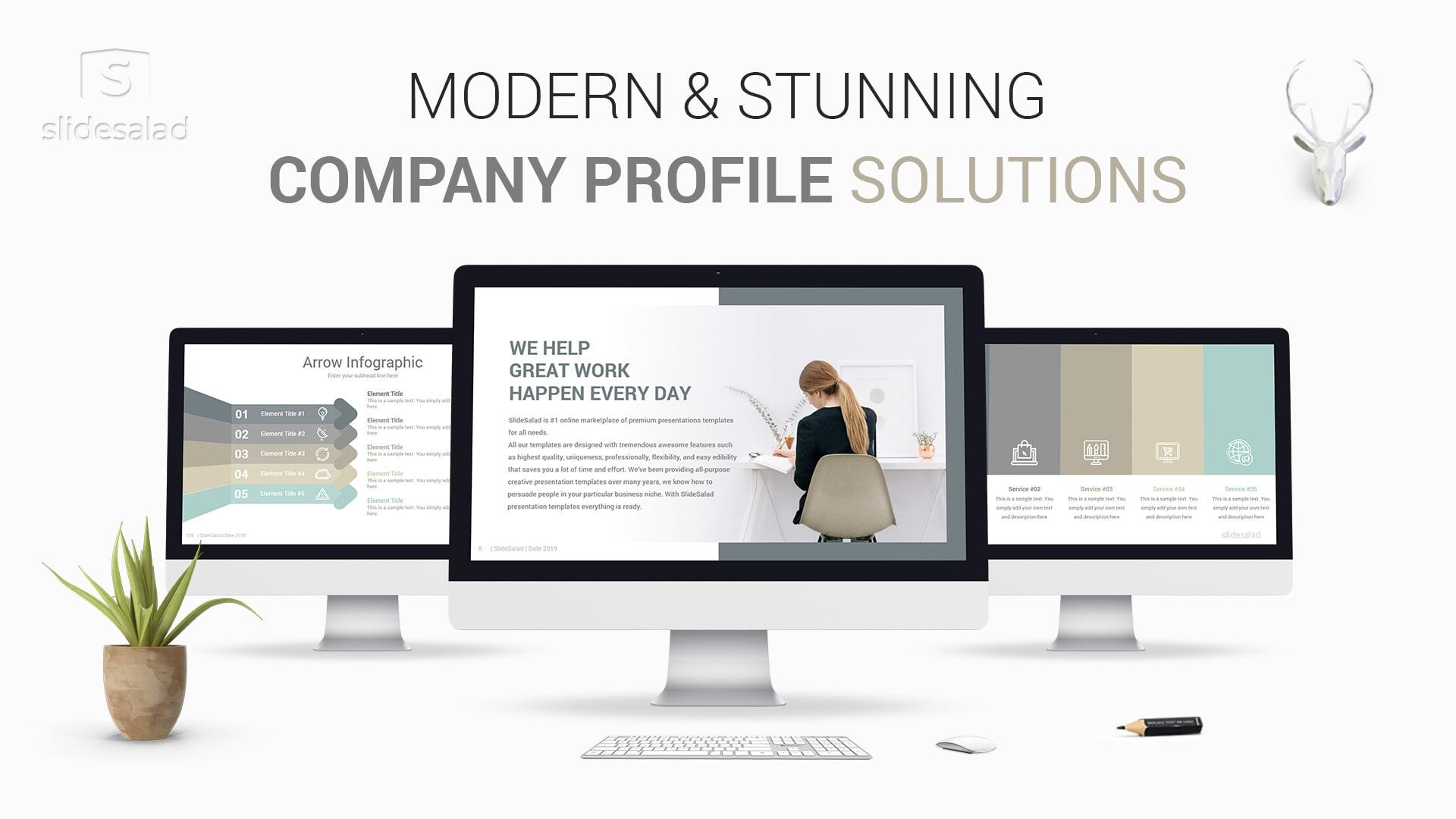 Modern Company Profile Templates Designs