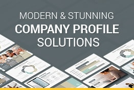 Modern Company Profile Google Slides Template Designs