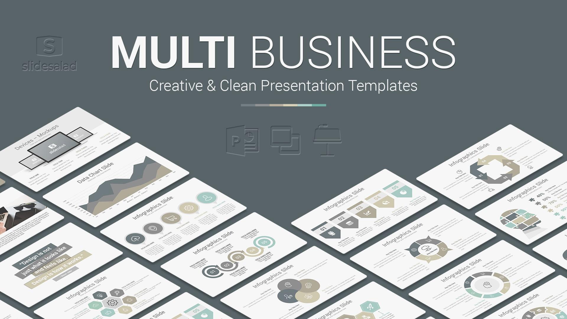 Multi Business Presentation Templates