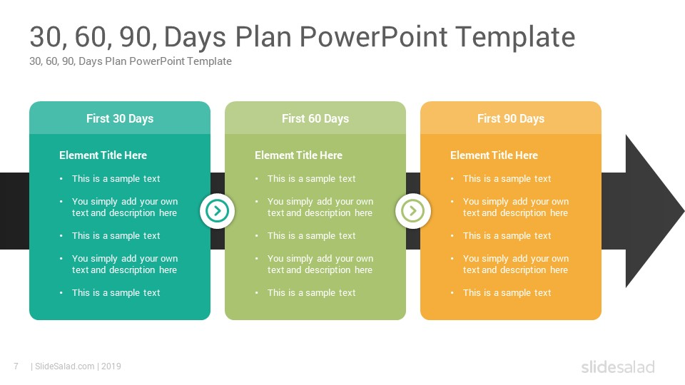 100 Day Planning Template from www.slidesalad.com