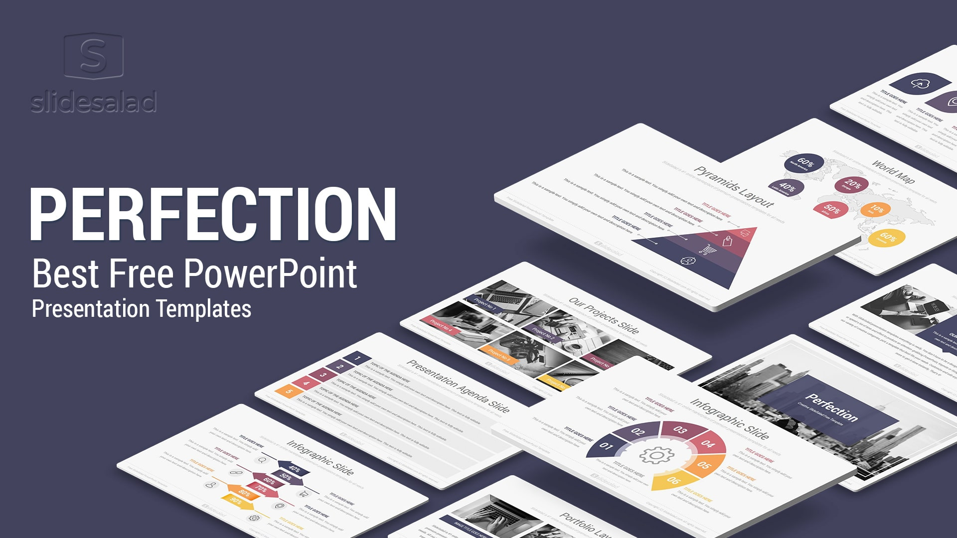 Perfection Free Powerpoint Presentation Template Free Download