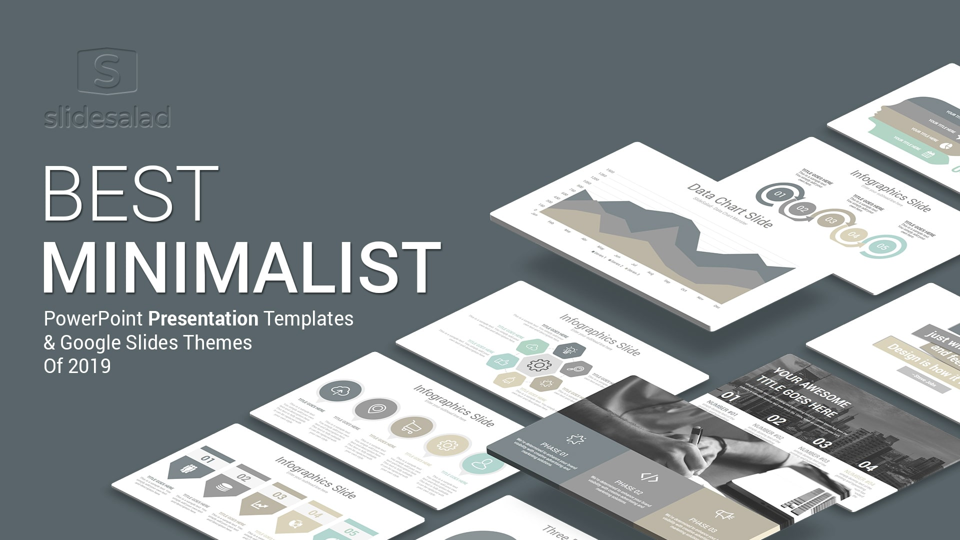Best Minimalist Powerpoint Templates Of 2019 Slidesalad