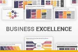 Business Excellence Model EFQM Google Slides Templates Diagrams