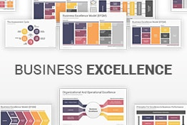 Business Excellence Model EFQM PowerPoint Templates Diagrams