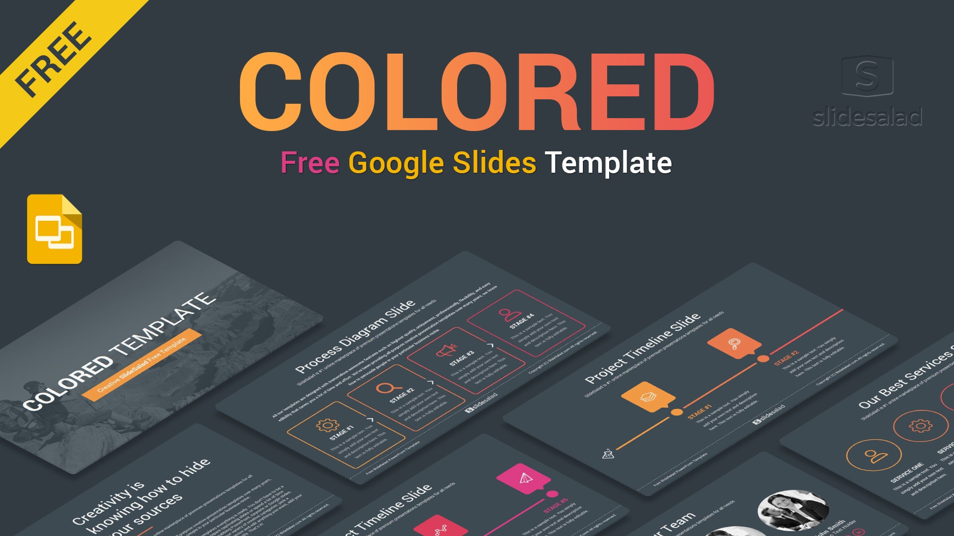 Download Free Business Google Slides Themes