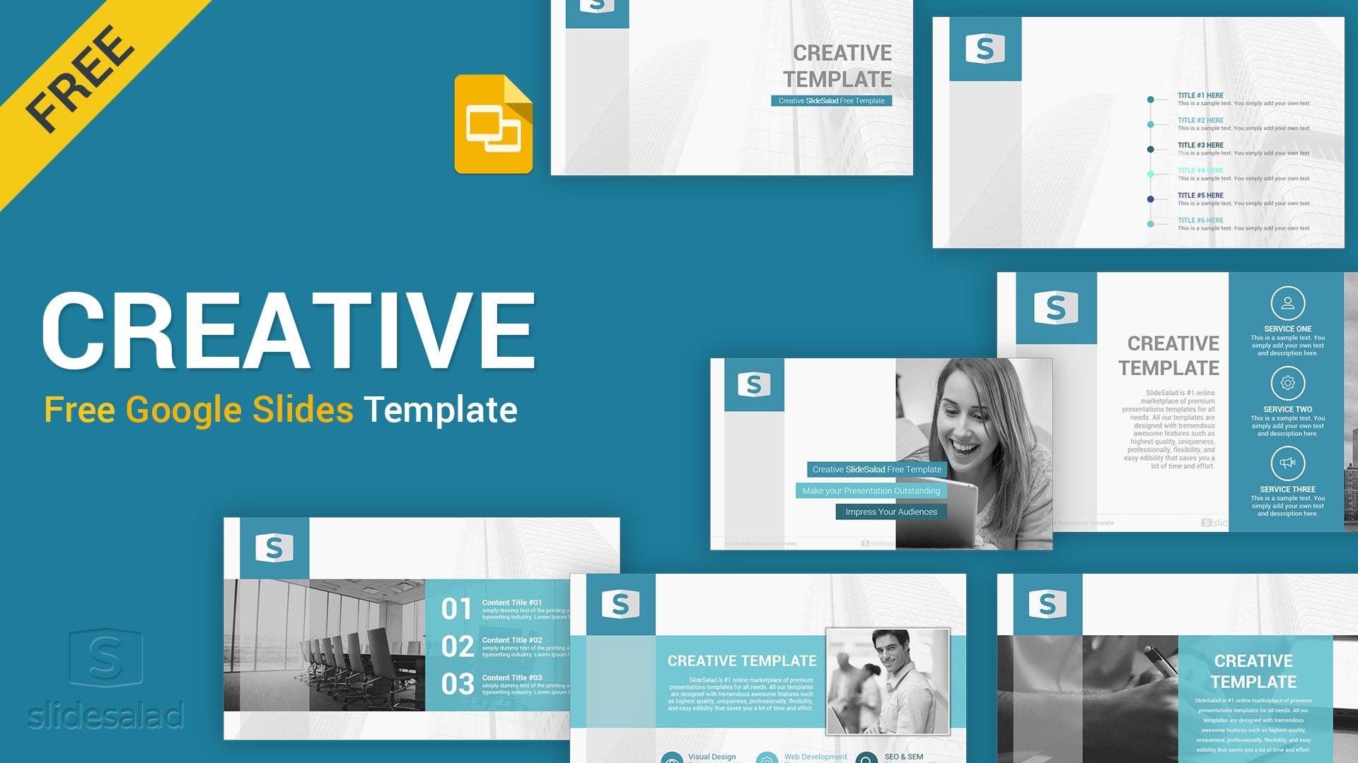 Creative Free Google Slides Presentation Template
