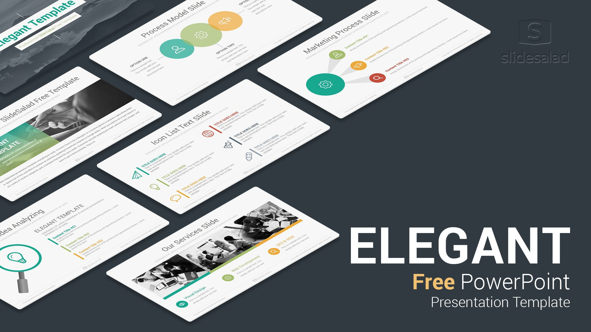 elegant free download powerpoint templates for presentation