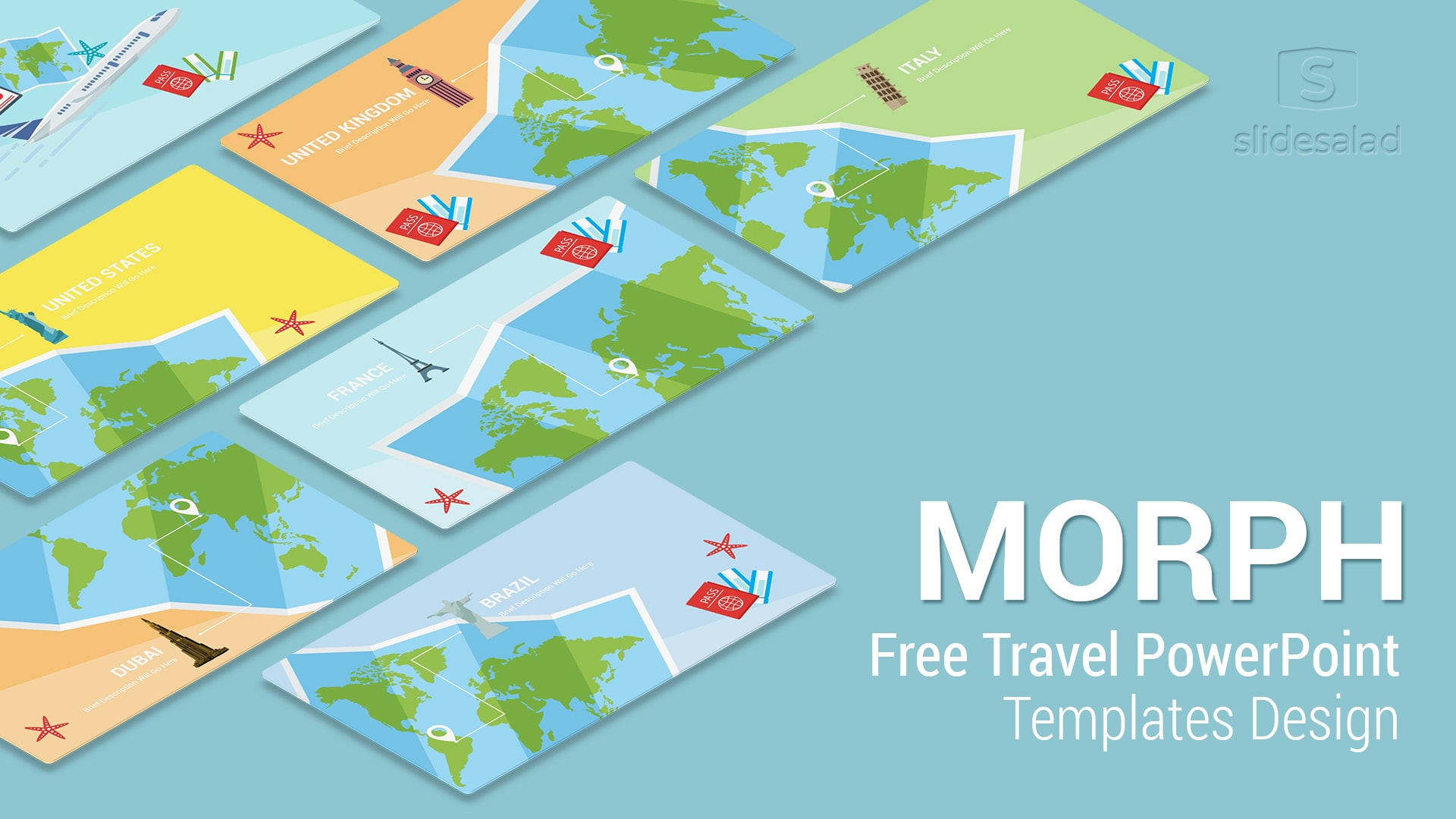 morph travel free download powerpoint templates for presentation