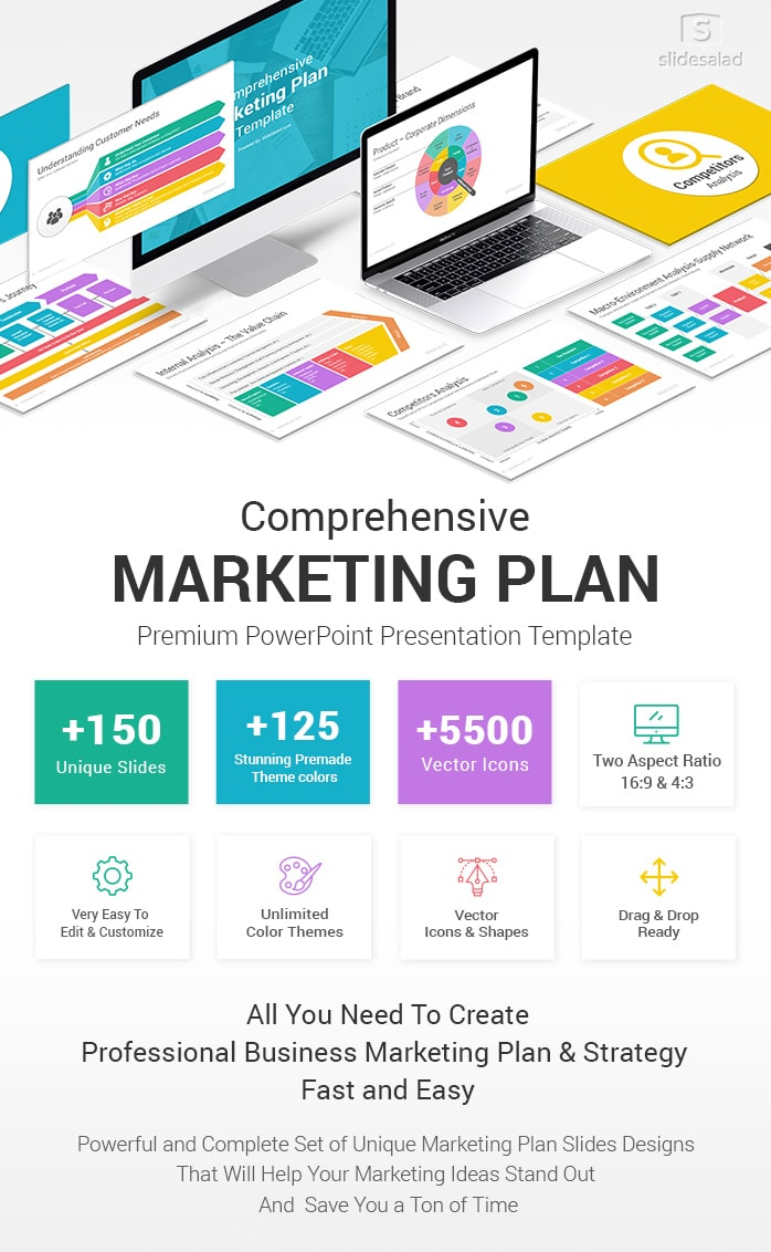 Best Marketing Plan Powerpoint Ppt Template Slidesalad