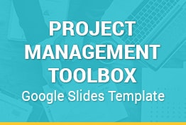 Project Management Toolbox Google Slides Template