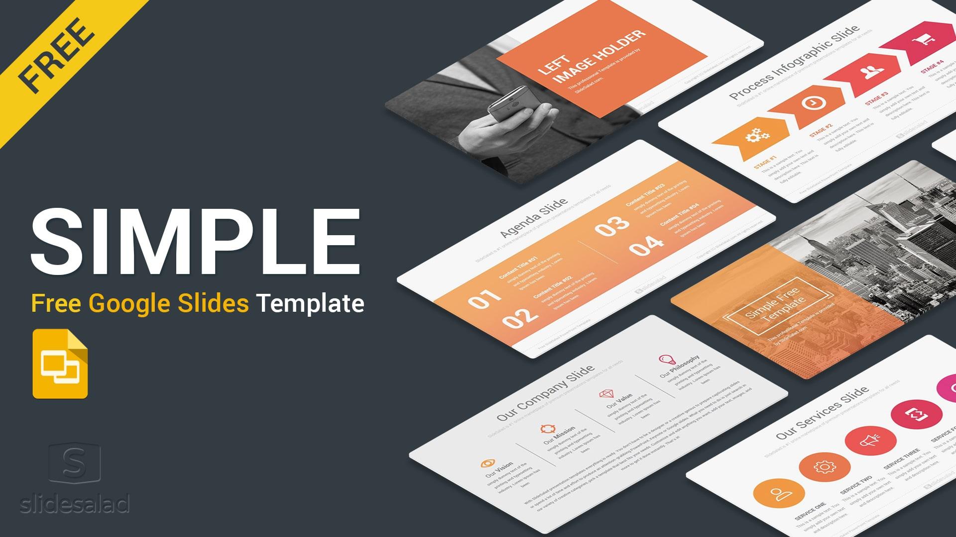 Simple Free Google Slides Presentation Template