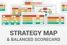 Strategy Map and Balanced Scorecard PowerPoint Templates Diagrams