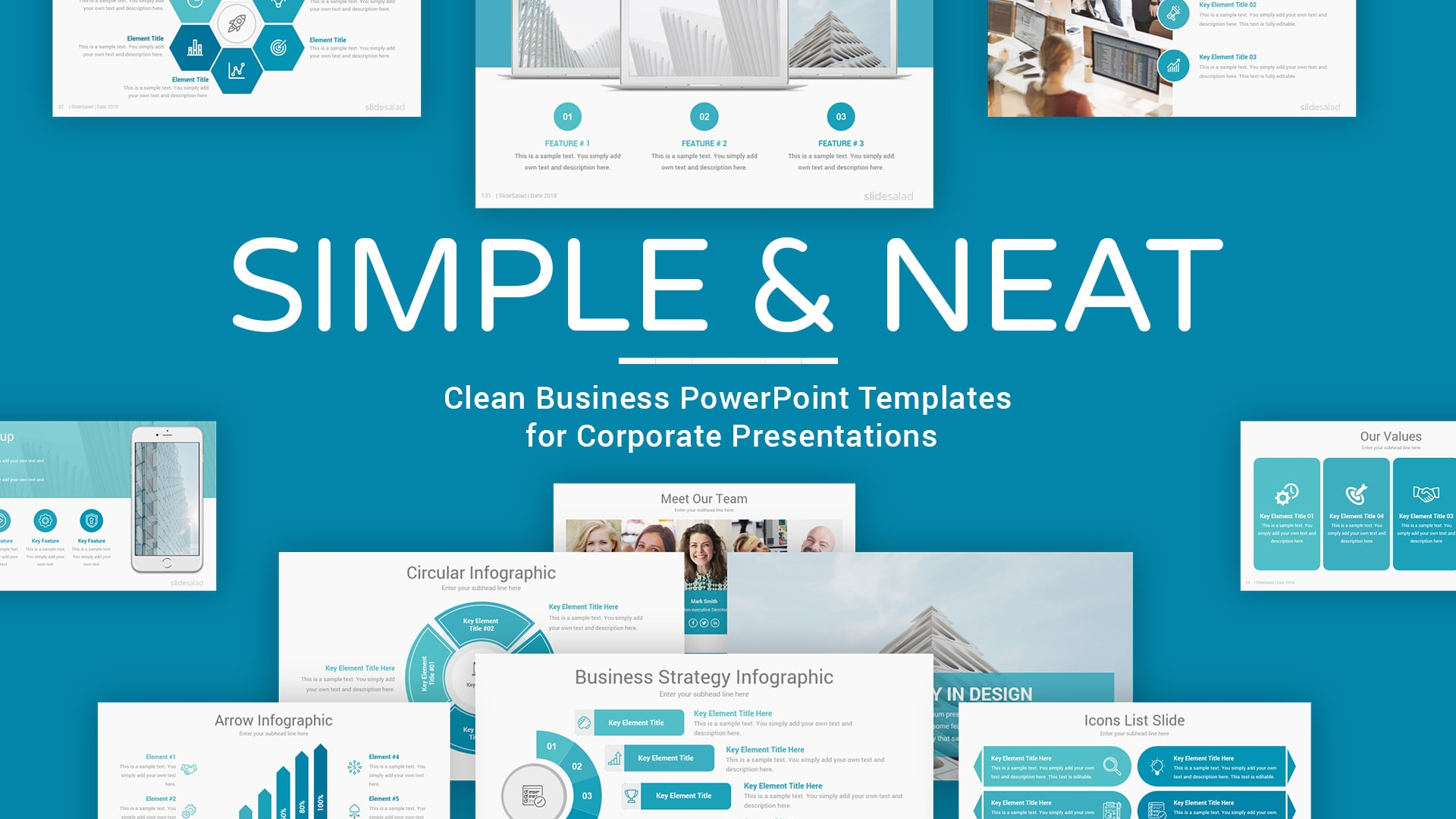 45 Free Business Powerpoint Templates And 1