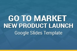 New Product Launch Go To Market Plan and Strategy Google Slides Template
