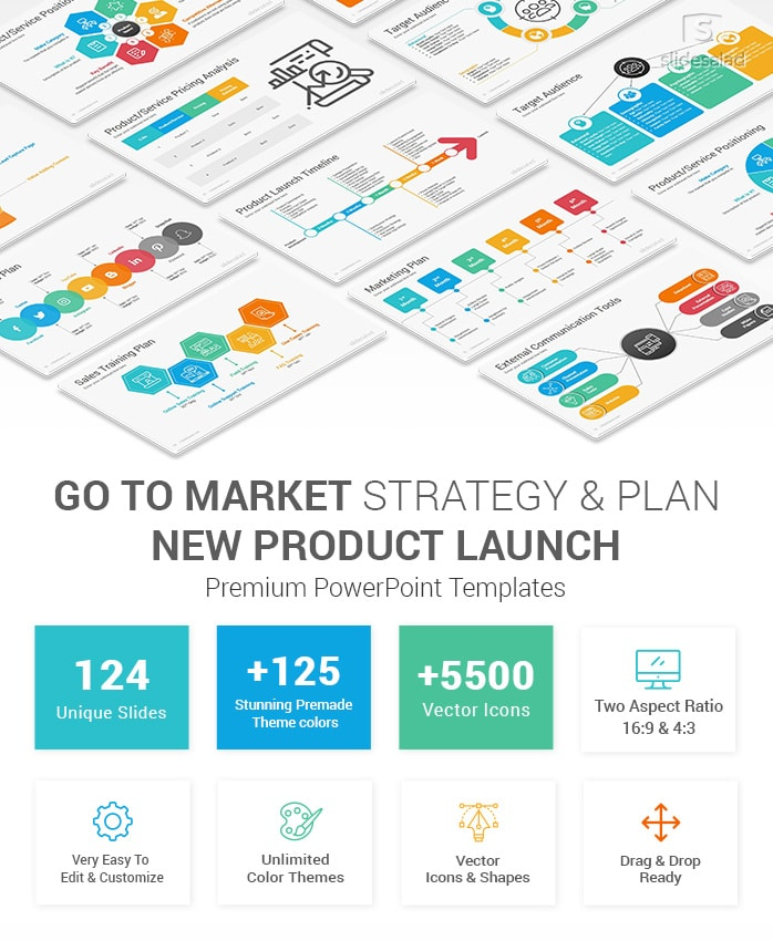 New Product Launch Go To Market Plan & Strategy PowerPoint