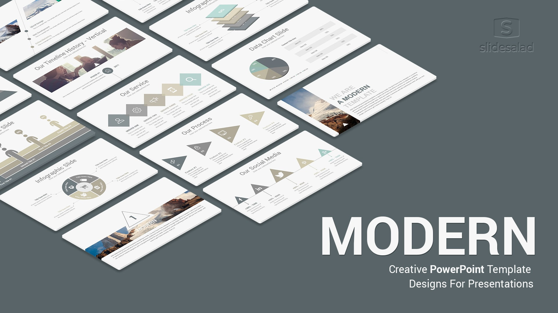 Modern PowerPoint Template for Presentation – Top Selling Modern PPT Templates