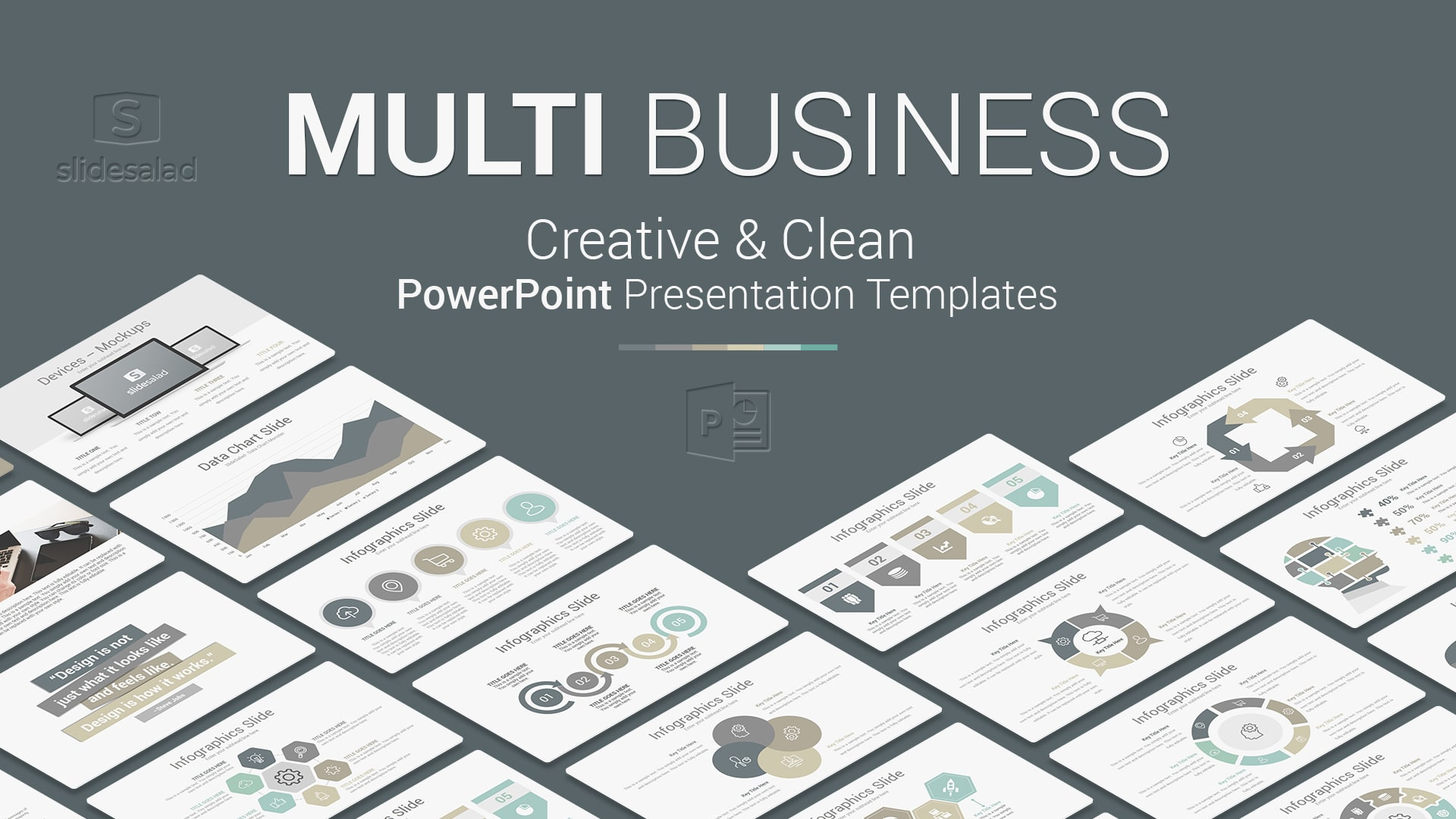 Powerful Multipurpose Modern PowerPoint Templates