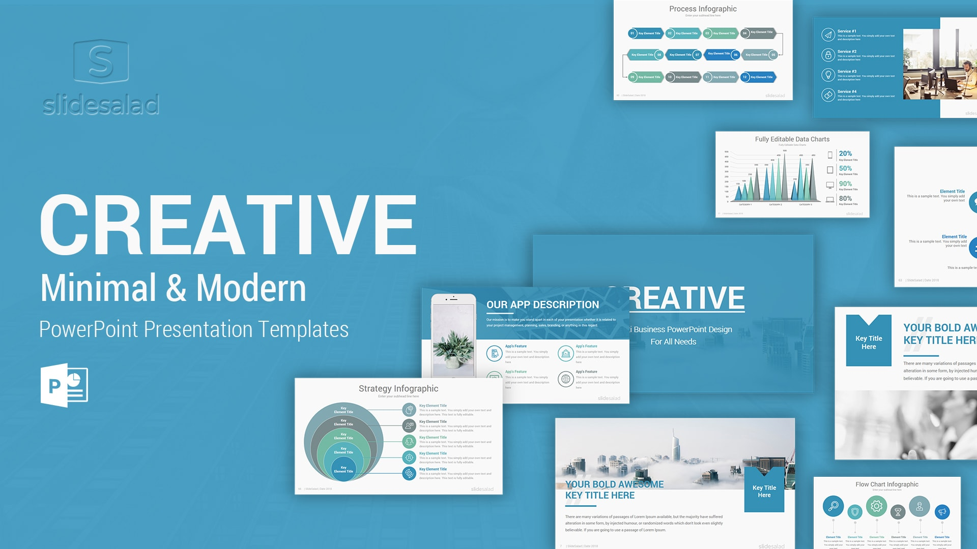 Creative Minimal Business PowerPoint Templates