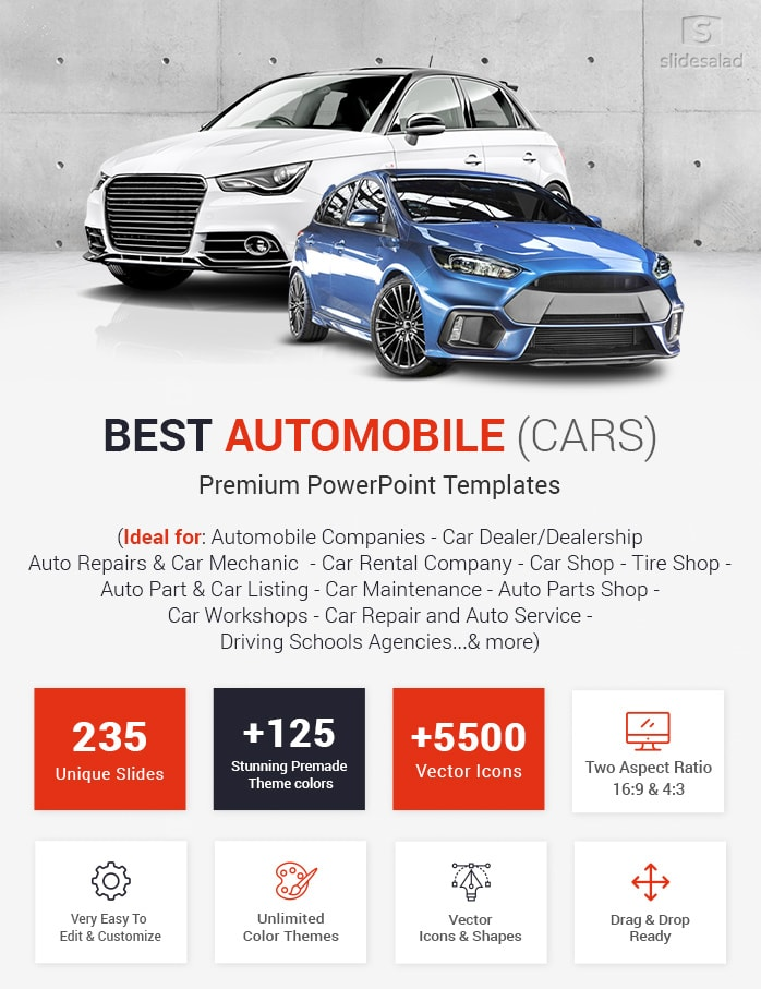 Best Automobile Powerpoint Templates Cars Ppt Themes