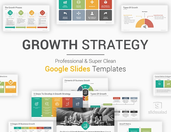 Growth Strategy Google Slides Template