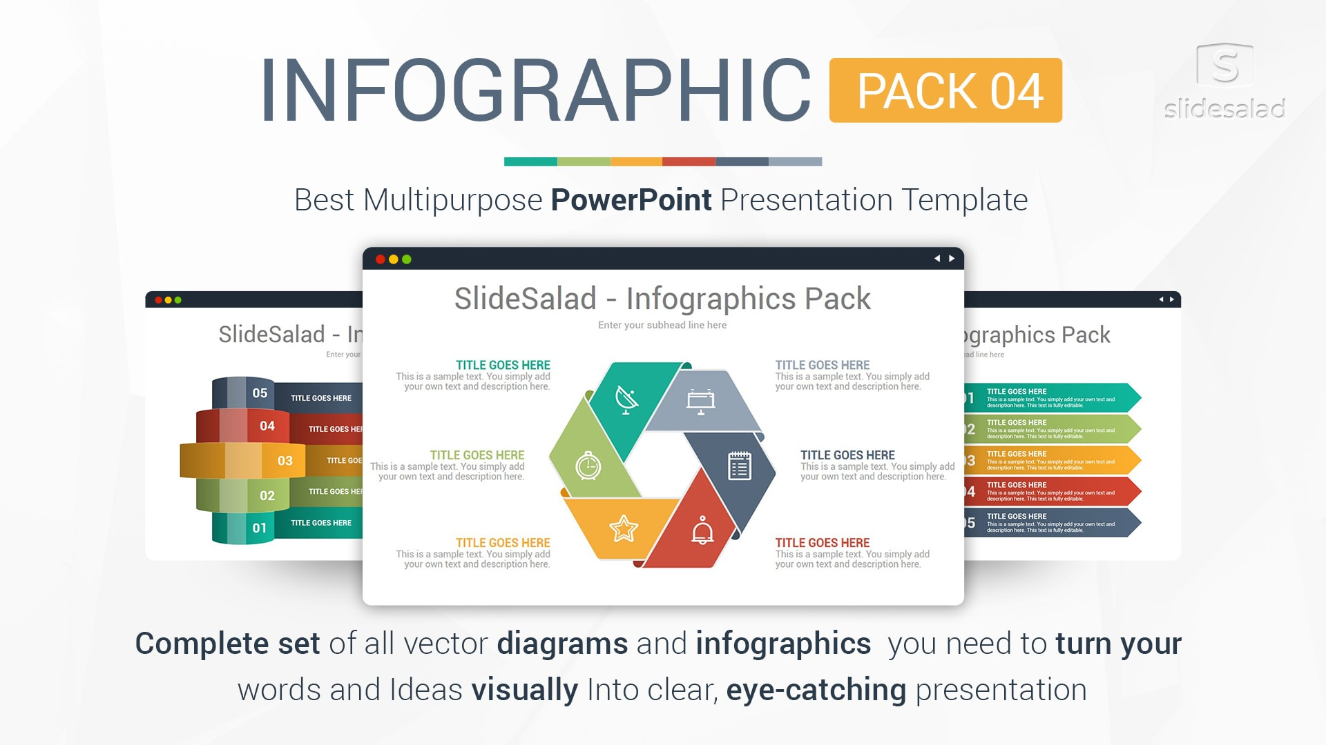 Infographics Designs Pack Multipurpose Business Infographic Templates