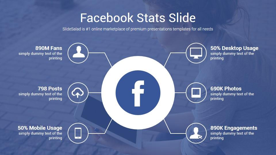 Social Media Free Powerpoint Template Ppt Slides Slidesalad