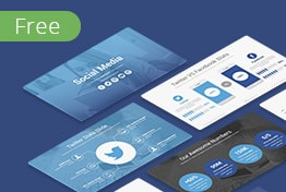 Social Media Free PowerPoint Template PPT Slides