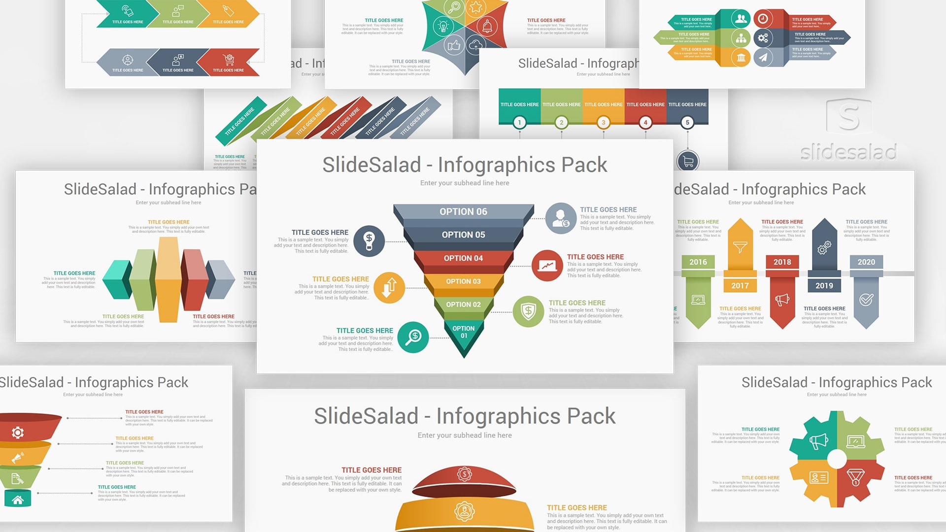 Top-Infographics-Designs-Pack-Trending-Multicolor-PowerPoint-Templates