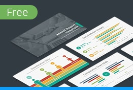 Free Download Annual Report Keynote Template