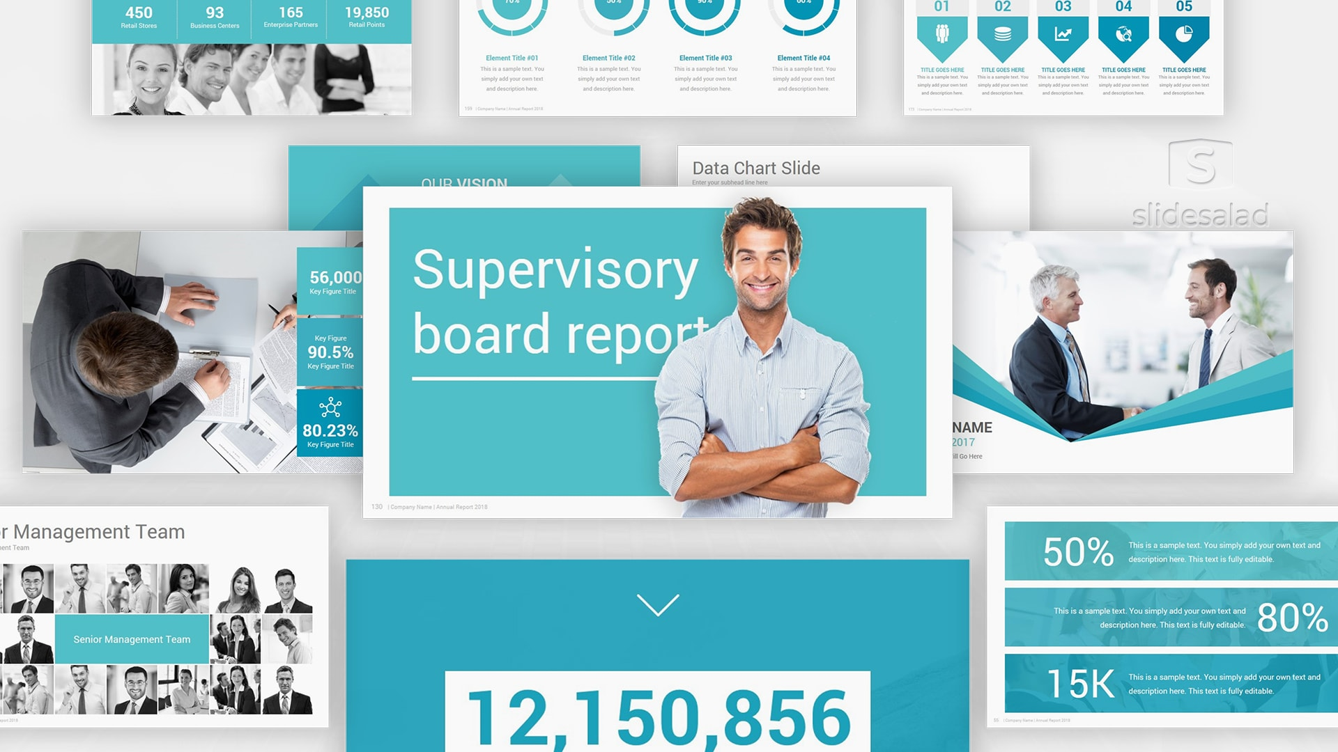 Best Annual Report Keynote Template Designs