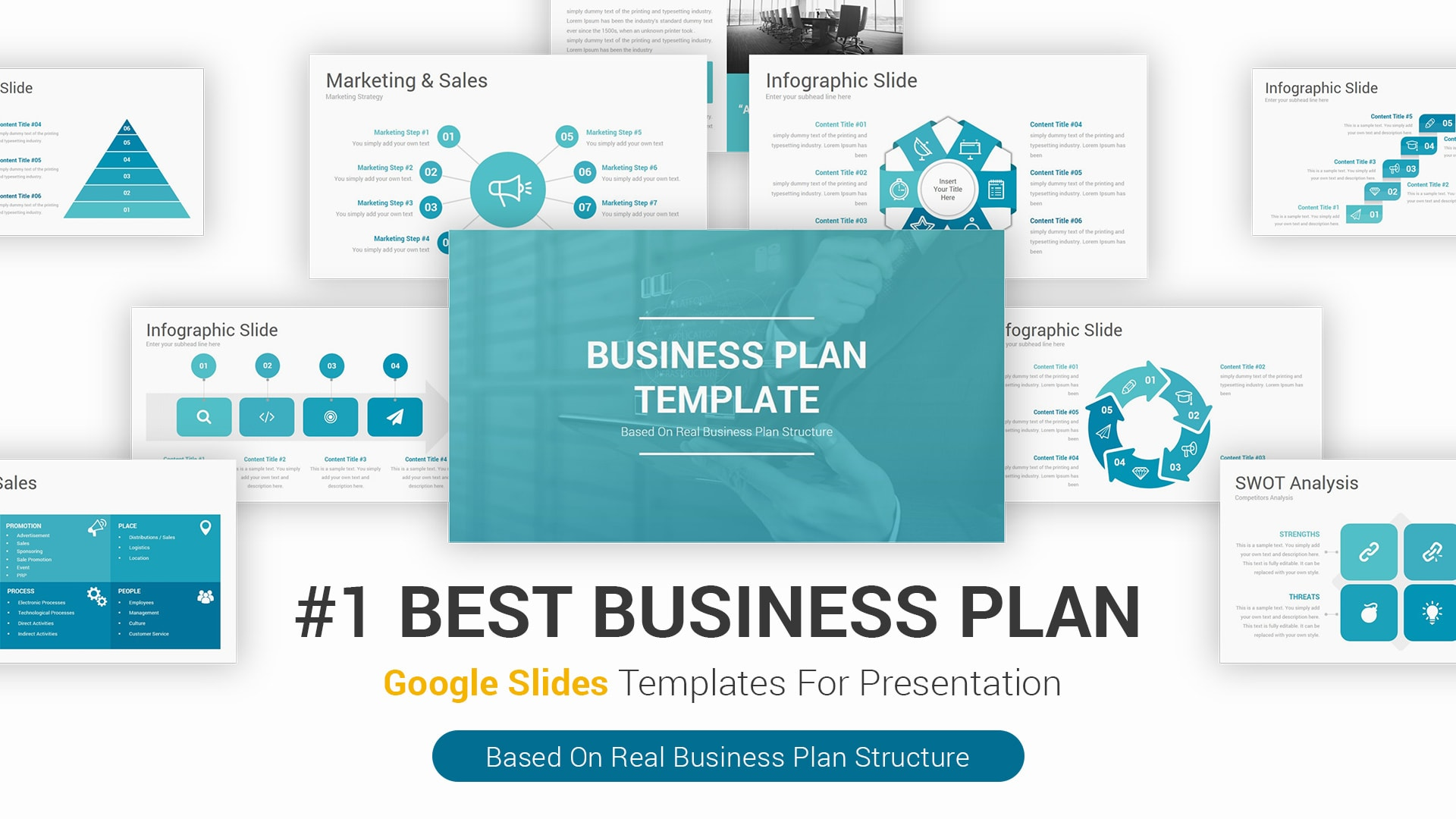 Best Business Plan Google Slides Themes Templates for Presentations