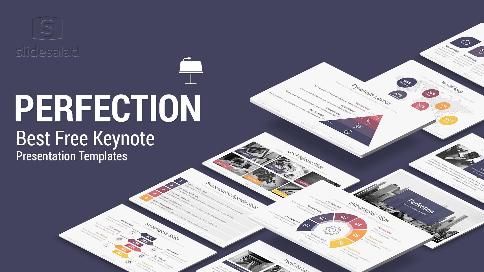 Perfection Free Keynote Presentation Template - Free Download