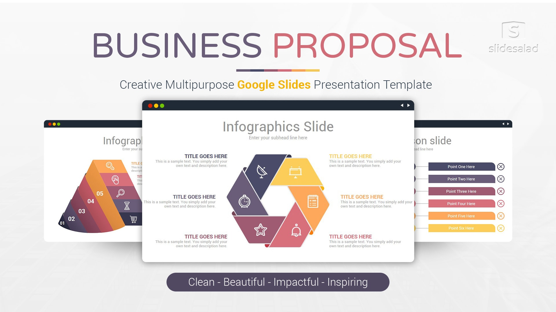 Business Proposal - Clean Modern Business Google Slides Theme Download