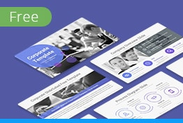 Free Corporate Professional Keynote Template Slides