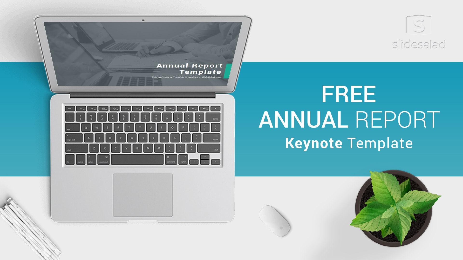 Free Download Annual Report Keynote Template For Presentations