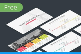 Marketing Free Download Keynote Template Slides