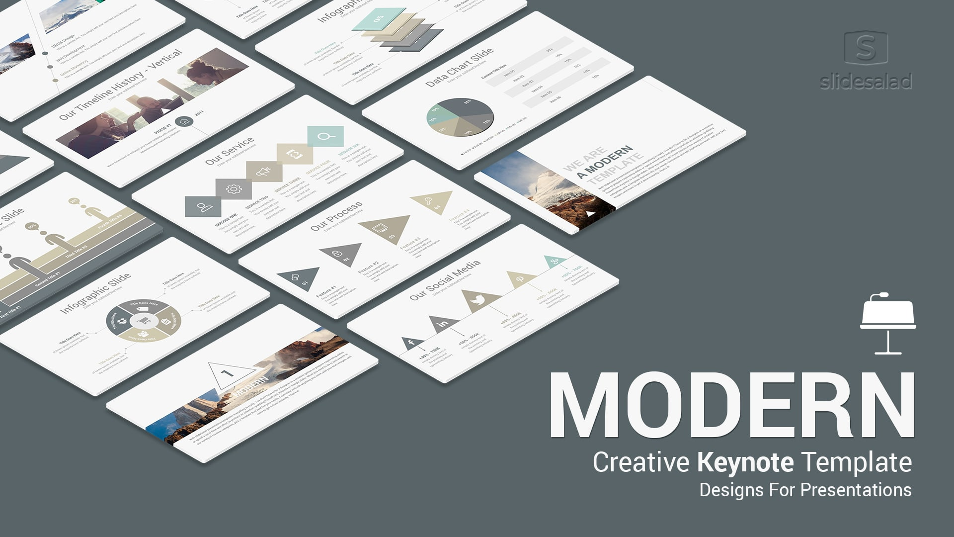 Modern Keynote Template for Presentations